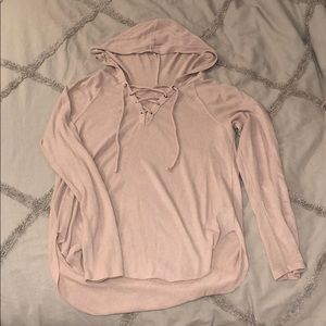 AE Soft & Sexy Plush Hooded Top
